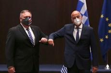 Mỹ-Hy Lạp mong giải quyết tranh chấp ở Địa Trung Hải một cách hòa bình
