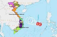 Áp thấp sẽ mạnh thêm, Thừa Thiên-Huế đến Quảng Nam tiếp tục mưa to