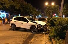 Thanh niên điều khiển ôtô gây tai nạn liên hoàn, một người tử vong