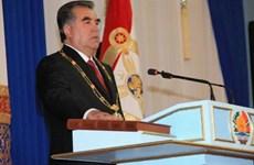 Tajikistan: Đương kim Tổng thống Rakhmon tái đắc cử nhiệm kỳ thứ 5