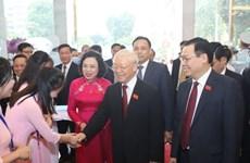 Tổng Bí thư dự khai mạc Đại hội đại biểu Đảng bộ thành phố Hà Nội