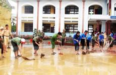 Tuổi trẻ Quảng Bình xung kích, đồng hành cùng người dân vùng lũ