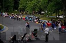 Số người xin hưởng trợ cấp thất nghiệp tại Mỹ giảm mạnh