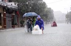 Hà Tĩnh mưa rất to, xuất hiện nhiều điểm ngập lụt cục bộ
