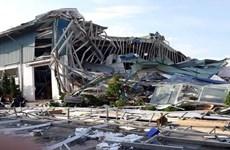 Sập mái nhà xưởng của công ty thép Hòa Phát Dung Quất, 3 người tử vong