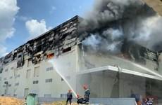 Hỏa hoạn thiêu rụi 4.000m2 nhà xưởng công ty sản xuất bàn ghế sofa