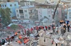 Thổ Nhĩ Kỳ: 43 người đã tử vong trong trận động đất rung chuyển Izmir