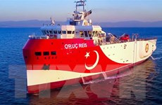 Thổ Nhĩ Kỳ tiếp tục gia hạn nhiệm vụ của tàu thăm dò tại Địa Trung Hải