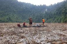 [Photo] Sạt lở tại Trà Leng: Mở rộng phạm vi tìm nạn nhân còn lại