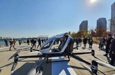 Hàn Quốc lần đầu tiên thử nghiệm taxi bay tại khu vực đông dân cư