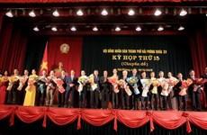 Phê chuẩn kết quả bầu bổ sung 2 phó Chủ tịch UBND thành phố Hải Phòng