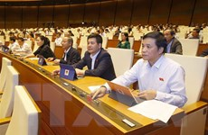 Kỳ họp thứ 10, Quốc hội khóa XIV: Thông qua 4 Luật, 2 Nghị quyết