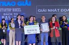 Ứng dụng đọc sách cho trẻ em giành giải nhất cuộc thi Startup Wheel