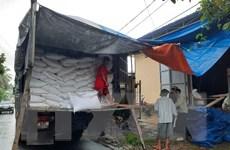 Xuất cấp hơn 4.300 tấn gạo dự trữ cho 3 tỉnh bị thiên tai, mưa lũ
