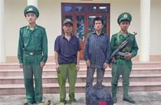 Điện Biên phát hiện, bắt 2 đối tượng nước ngoài nhập cảnh trái phép