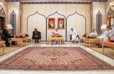 Jordan, Bahrain và UAE thảo luận các vấn đề về Palestine