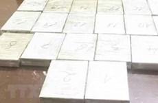 Bắt quả tang vụ vận chuyển ma túy từ nước ngoài vào Việt Nam
