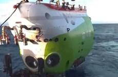 Trung Quốc phát cảnh quay trực tiếp tại đáy sâu nhất của đại dương