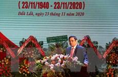 Đắk Lắk cần tập trung phát triển kinh tế, xây dựng khối đại đoàn kết