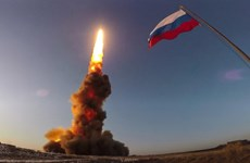 Tàu chiến Nga phóng thử thành công tên lửa siêu thanh Tsirkon