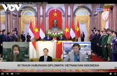 Đài VOV và RRI vun đắp tình hữu nghị Việt Nam-Indonesia
