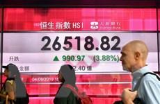 Chứng khoán châu Á đi xuống do nhà đầu tư thận trọng hơn