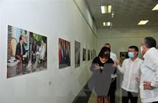 Khai mạc triển lãm ảnh 60 năm quan hệ đoàn kết Việt Nam-Cuba