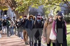 Mỹ có số ca nhiễm COVID-19 cao kỷ lục, số ca mới tại Hàn Quốc giảm