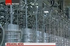 Ba nước châu Âu quan ngại việc Iran muốn đẩy nhanh làm giàu urani