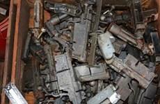 Pháp thu giữ hàng tấn vũ khí thời chiến tranh thế giới thứ hai