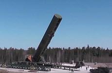 Nga sắp hoàn tất việc chế tạo tên lửa đạn đạo xuyên lục địa Sarmat
