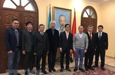 Đại sứ Nguyễn Hồng Thạch gặp đại diện doanh nghiệp Việt tại Ukraine