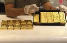 Giá vàng thế giới tăng gần 1% do đồng USD suy yếu