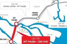 Liên danh Tổng công ty 36 trúng thầu tại cao tốc Mỹ Thuận-Cần Thơ