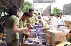 Hà Nội triệt phá đường dây mua bán thuốc lá ngoại nhập lậu