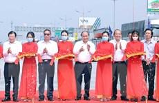 [Photo] Thủ tướng dự Lễ thông tuyến cao tốc Trung Lương-Mỹ Thuận