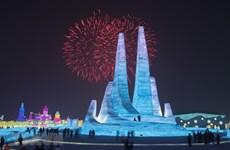 Trung Quốc khai mạc lễ hội băng đăng 2021 bất chấp dịch COVID-19