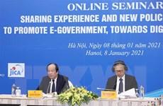 Nhật Bản chia sẻ kinh nghiệm thúc đẩy phát triển chính phủ điện tử