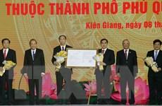 Công bố Nghị quyết lập thành phố Phú Quốc và các phường trực thuộc