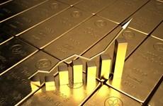 Đồng USD và lợi suất trái phiếu Mỹ giảm giúp giá vàng thế giới đi lên