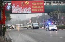 [Video] Phân luồng giao thông phục vụ Đại hội XIII của Đảng