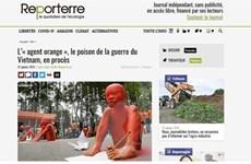 """Truyền thông Pháp đánh giá """"vụ kiện lịch sử"""" vì nạn nhân da cam Việt"""