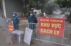 Thủ đô Hà Nội ghi nhận thêm một ca nghi mắc COVID-19