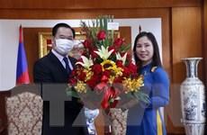 Lãnh đạo bộ, ngành của Lào chúc mừng ngày thành lập ĐCS Việt Nam