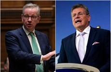 Anh và EU nhất trí tăng nỗ lực xoa dịu căng thẳng tại Bắc Ireland