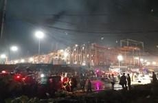 Hỏa hoạn tại Philippines khiến 5 người tử vong, thiêu rụi 300 căn hộ