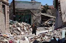 Những thiệt hại ban đầu sau trận động đất có độ lớn 6,2 tại Hy Lạp