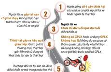 [Infographics] Bảo hiểm bắt buộc trách nhiệm dân sự của chủ xe cơ giới