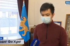 Cộng đồng người Việt Nam ở thành phố Pskov tự hào về thế hệ trẻ