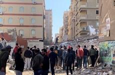 Sập tòa nhà 10 tầng ở Ai Cập khiến 5 người thiệt mạng